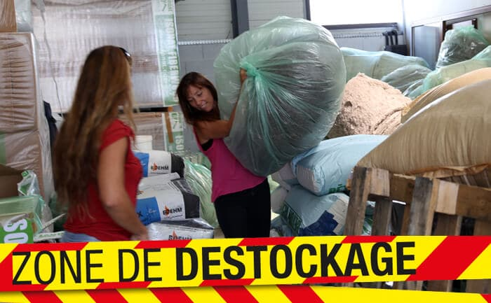 Destockage et promo isolants