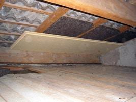 isolation liège rampant de toiture et fibre de bois