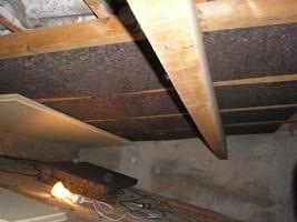 isolation liège rampant garage