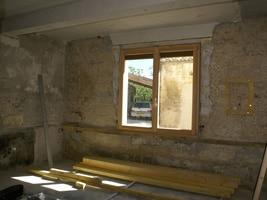 isolation murs périphériques maison de village liège
