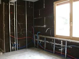 isolation murs avec plaques de liège expansé